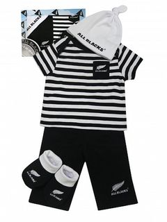 All Blacks Baby Gift Set 4 piece