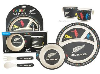 All Blacks Bamboo Meal Set
