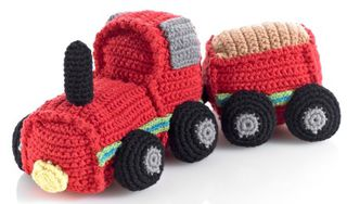 Crochet Toy Train