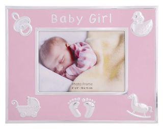 Baby Girl Photo Frame