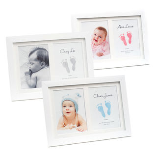 Baby Ink Double Frame Footprint Kit