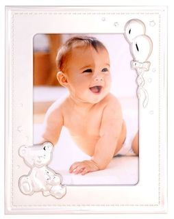 Baby Photo Frame with Teddy