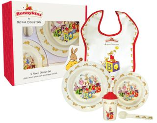 Bunnykins 5 Piece Dinner Set