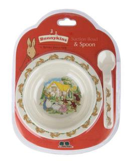Bunnykins Suction Bowl and Spoon