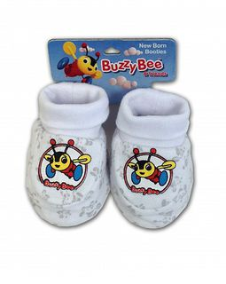 Buzzy Bee Booties