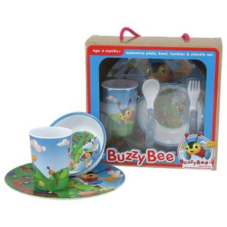 Buzzy Bee Melamine 5 Piece Set