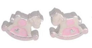 Rocking Horse Tooth and Curl Set Pink