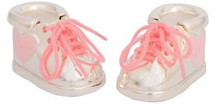 Tooth and Curl Baby Botties Pink