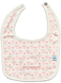 Baby Bib Pink Sheep