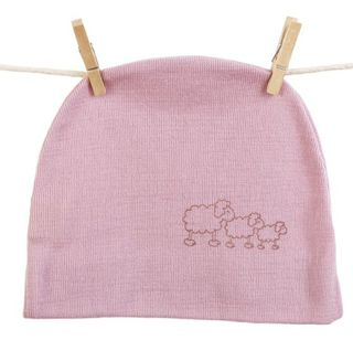 Baby Merino Wool Beanie 3 colours 3-6 months