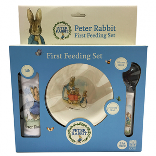 Peter Rabbit First Feeding Set - Peter