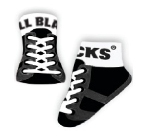 All Blacks Baby Rugby Boot Socks