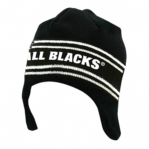 All Blacks Helmet Beanie