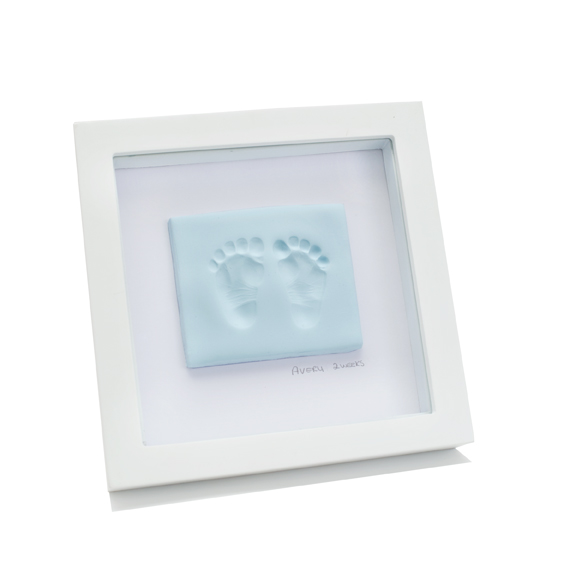 Baby Clay Footprint Kit Blue