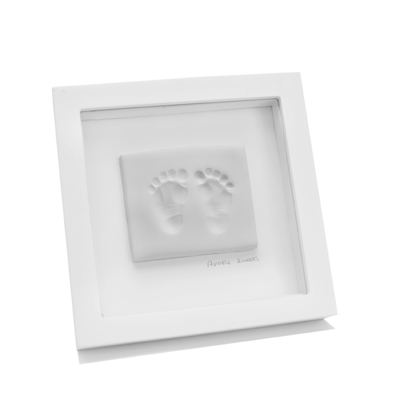 Baby Clay Footprint Kit White