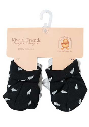 Baby Fern Booties Twin Pack
