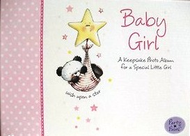 Baby Girl Keepsake Photo Album