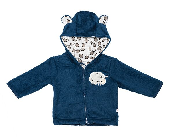 Baby Sherpa Hoodie with Sheep