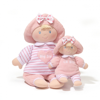 Big Sis and Lil Sis Doll set