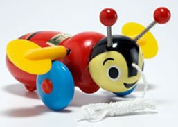 Buzzy Bee Original Pull-Along Toy