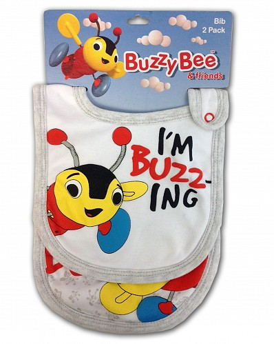 Buzzy Bee Bib 2 pack