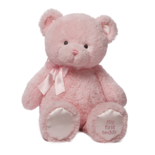 My First Teddy Small Pink