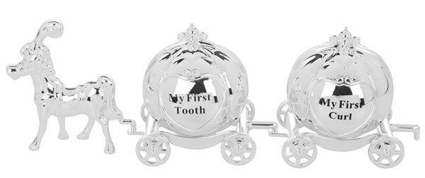 My First Tooth and Curl Cinderella Carriage
