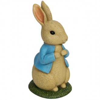 Peter Rabbit Figurine Money Bank