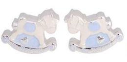 Rocking Horse Tooth and Curl Set Blue