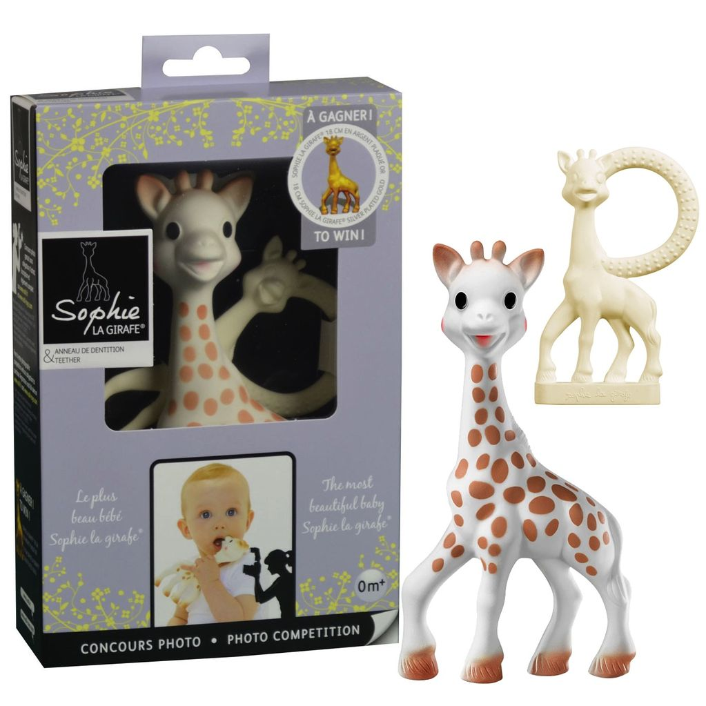 Sophie La Giraffe and Teether Set