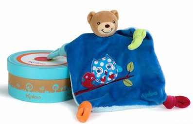 Kaloo Colours Bear Doudou with Owl
