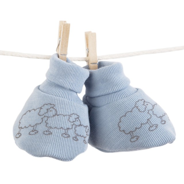 Baby Merino Wool Booties 3 colours  Size 0-3 months