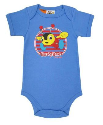 Buzzy Bee Bodysuit Blue