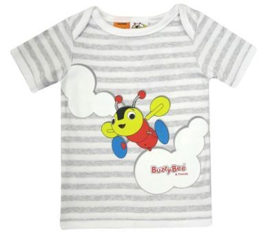 Buzzy Bee Striped T-Shirt