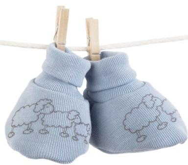 Merino Wool Booties 2 colours 6-12 months