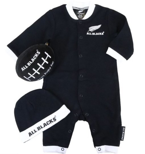 All Blacks Baby Giftpack 3 piece