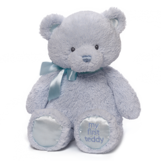 Baby's First Teddy Blue Medium