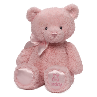 My First Teddy Medium Pink