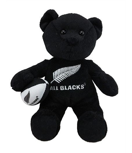 All Blacks Beanie Bear with Haka Sound