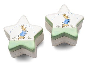 Peter Rabbit First Curl and Tooth Boxes